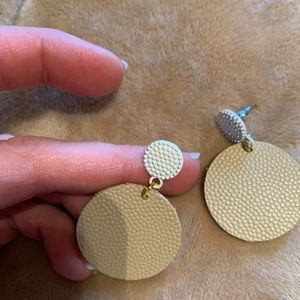 Styled Simplicity Jewelry - Lightweight Leather & Metal Small earrings